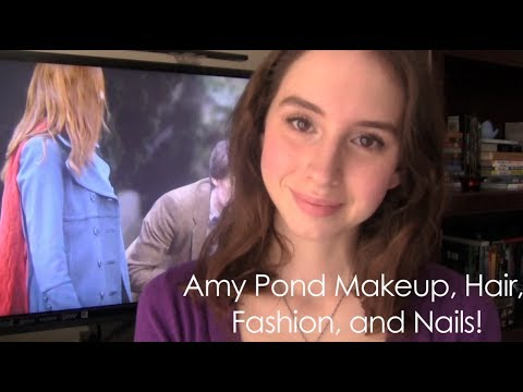 Amy Pond Hair, Makeup, Costume, and Nails! | RebeccaKelsey.com