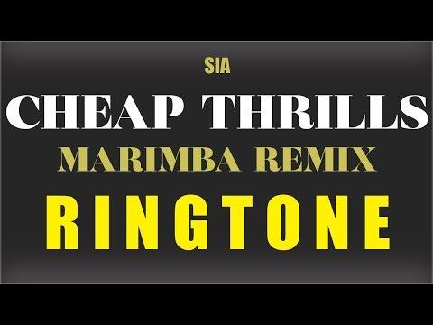 Sia Cheap Thrills Marimba Remix Ringtone