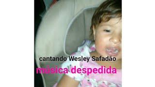 Cantando a música na despedida de Wesley Safadão