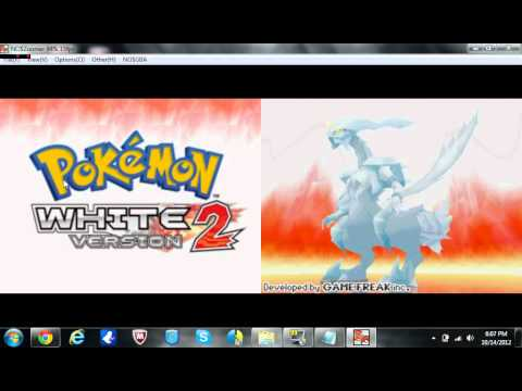 All-In-One Fix for Pokemon Black and White 2 ( All Regions) for No$Zoomer