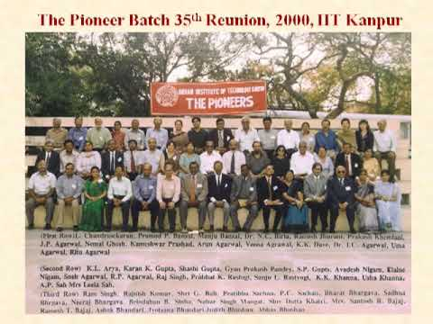 IIT Kanpur the first five years, pioneer batch - part 2
