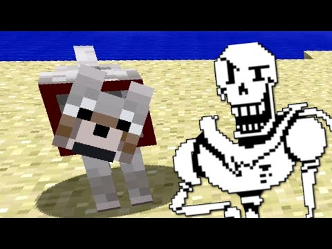 Undertale: Bonetrousle - Minecraft Dog Version (Gabetrousle)