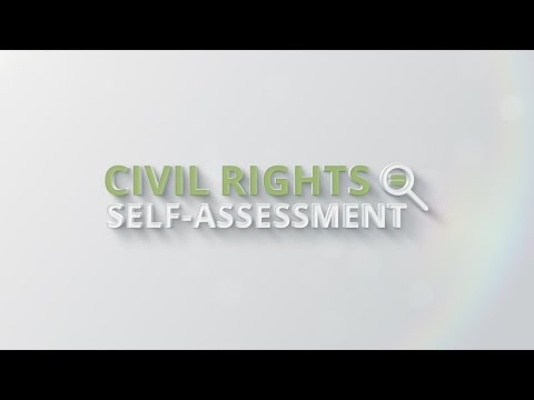 Civil Rights Self-Assessment Tutorials