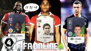 "FIFA ONLINE 4: TEST Đội Hình "" FULL +8 "" 11 Tỷ BP VS Eusebio ICON vs Lampard ICON - ShopTayCam.com"