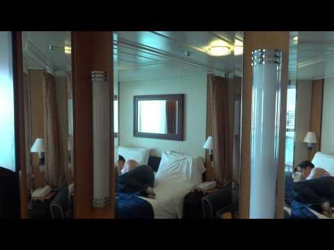 Royal Caribbean Jewel of the Seas Balcony E1 Cabin Stateroom #8564 review walkthrough.
