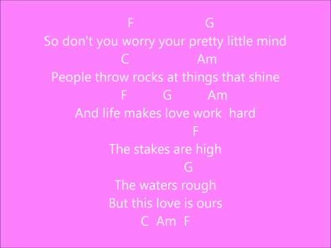ours w/ chords and lyrics