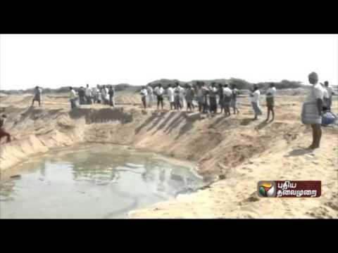 Residents siege Pullambadi quarry to stop illegal sand mining
