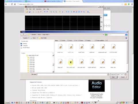 how to edit wav files
