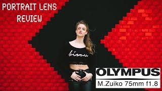 Olympus M.Zuiko 75mm f1.8 - RED35 Review