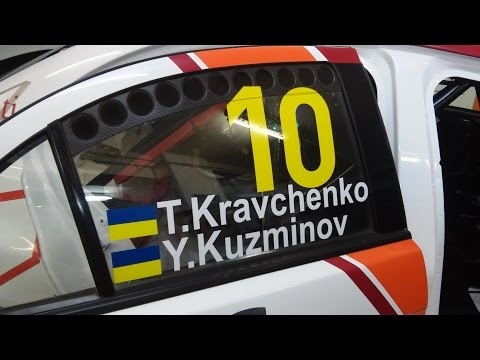 Rally Latvia 2014 - Live Stream day 2 - Taras Kravchenko Yuriy Kuzminov Dynamic Sport