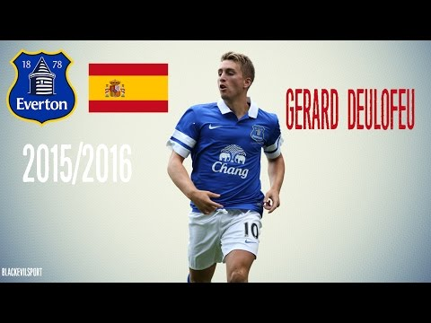 Gerard Deulofeu ● Everton  | Goals & Skills & Assists | 2015/2016 (HD)