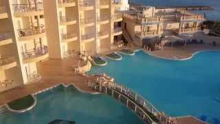 Вид с балкона Sphinx Aqua Park Beach Resort