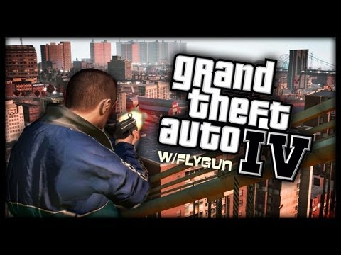 GTA 4 - Crazy multiplayer w/Flygun