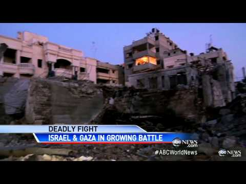 Israel and Hamas on the Edge: Death Toll Climbs in Gaz