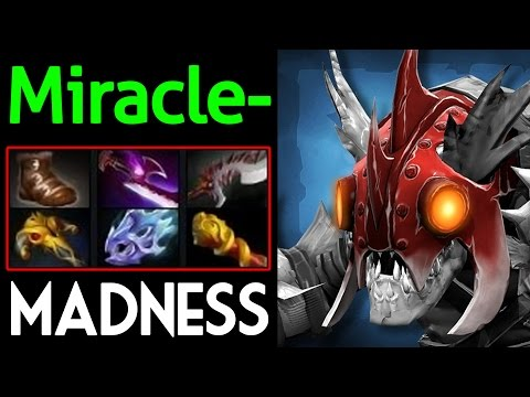 Miracle- [Slark] Mode Madness with Party MMR Dota 2 7.05