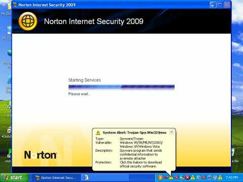 Norton Internet Security 2009 Review Part 1