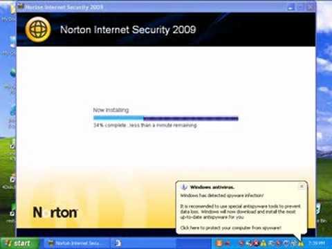 Norton Internet Security 2009 Review Part 1