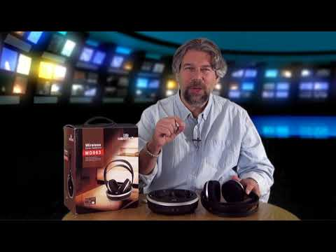 Save Your Marriage with Monodeal Wireless TV Headphones - Review!