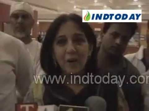 Actor Aamir Khan's Mother and Sister at Islamic Art Exhibition
