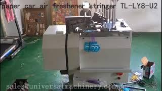 paper car air freshener elastic string stringer from UNIMAC