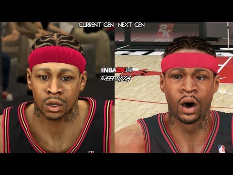 NBA 2K14 - Next Gen vs Current Gen Legends Face Comparisons