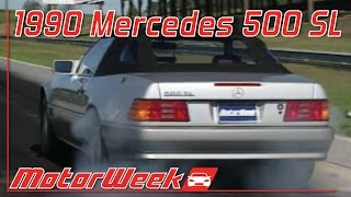 MotorWeek   Retro Review: '90 Mercedes Benz 500SL
