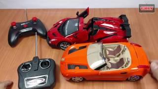 đồ chơi Xe hơi điều khiển từ xa , đua xe với cu tũn car toy remote control for kids
