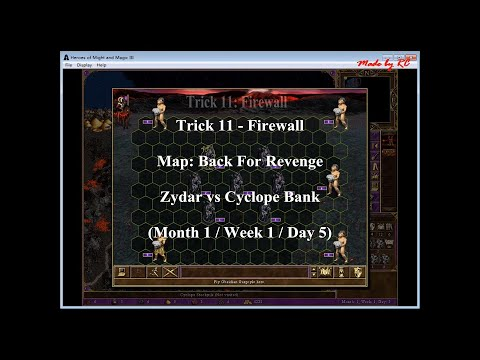 Heroes 3 (The Shadow of Death): Trick 11 - Firewall