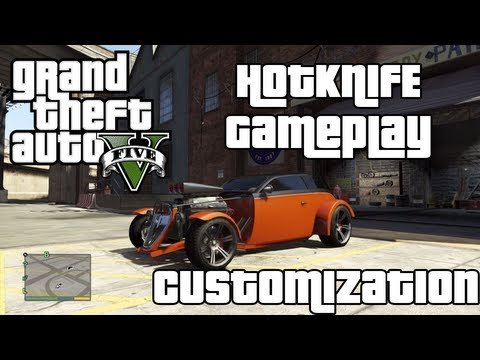GTA 5 Hotknife car