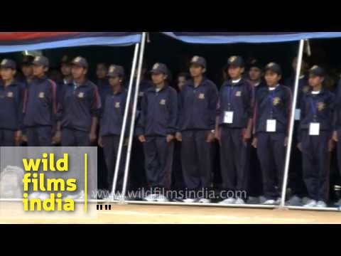 All Stand For Ncc Song 'ham Sub Bharathiya Hain' video