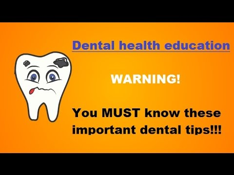 Dental tips you MUST be aware of  [WARNING] Dental tips that will save you from pain, time and money