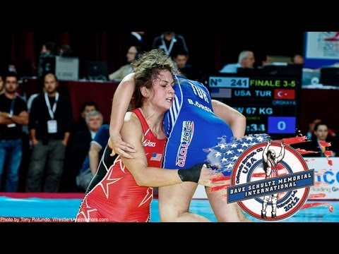 Dave Schultz International: Women's Freestyle Wrestling Mat 1 Image 1