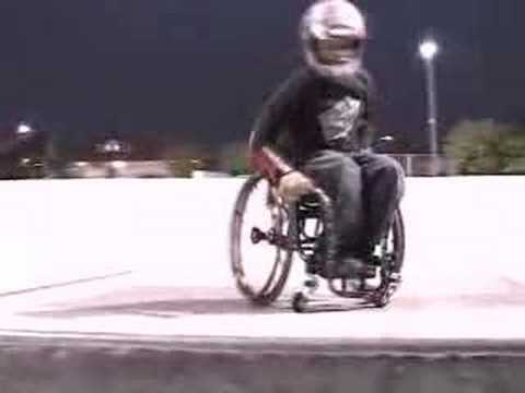 WheelChair Back Flip
