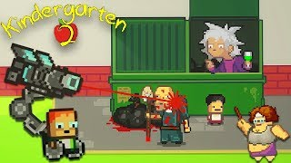MONTY'S DESTRUCTIVE TOY & THE JANITOR'S SECRET ARMORY | Kindergarten 2 [2]