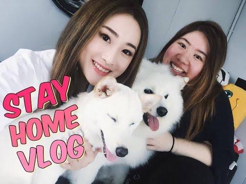 JM兩個宅女的一天  Stay Home Vlog