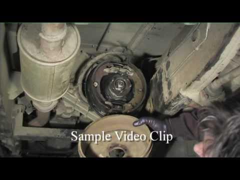 Land       Rover    90  HANDBRAKE SHOE REPLACEMENT  YouTube