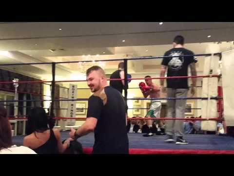 Adam's 4th boxing in Aid of British heart foundation