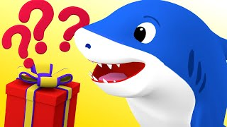 Baby Shark Song Unboxing | Baby Shark Family Nursery Rhymes