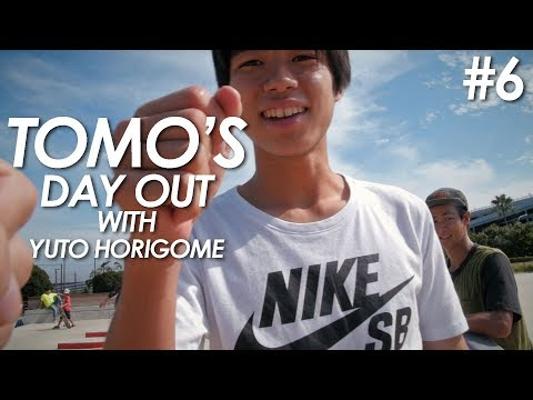 Tomo's day out #6 - A Day with Yuto Horigome and friends