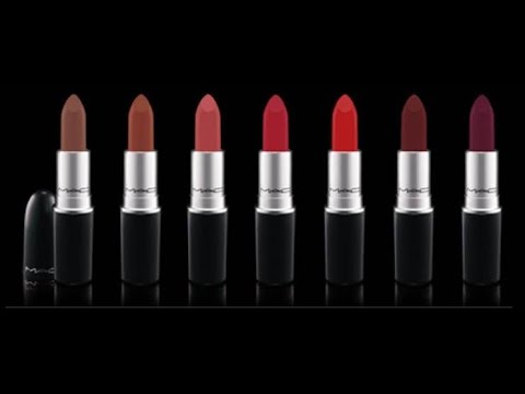 [GIVEAWAY CLOSED] MAC The Matte Lip Collection Lipstick First Impression, Review and Live Swatches