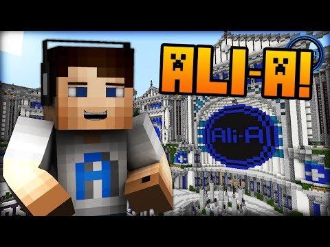 Minecraft: Ali-A Server! - LIVE Preview! - (mc.AliAcraft.net)