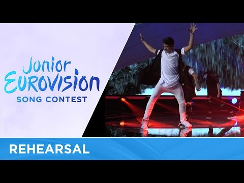 George Michaelides - Dance Floor (Cyprus)  Rehearsal Junior Eurovision 2016