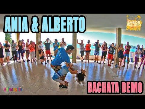 ANIA & ALBERTO BACHATA DEMO (Sabor Mallorca Latin Weekend)