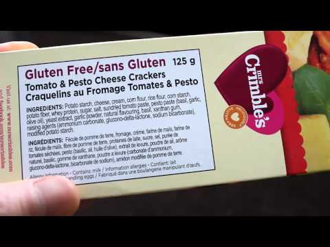 Review Mrs Crimbles Tomato and Pesto Cheese Crackers Gluten Free