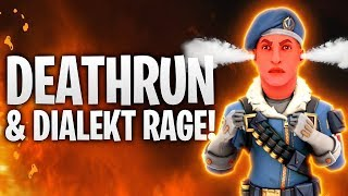 DEATHRUN = DIALEKT RAGE! 🔥 | Fortnite: Battle Royale