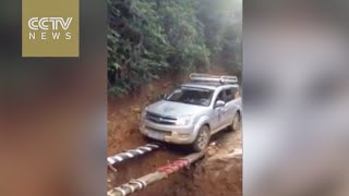 Could this be the best way to cross a ditch?