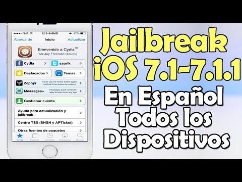 Tutorial Instalar Cydia iOS 7.1. 7.1.1 y 7.1.2 Untethered en ESPAÑOL
