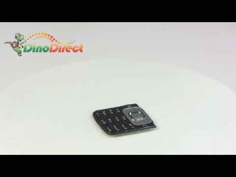 Keyboard Keypad Button Replacement Repair Parts For Nokia 6120  From Dinodirect video