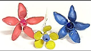 Diy: Mini Flores De Alambre. Small Wire F ...