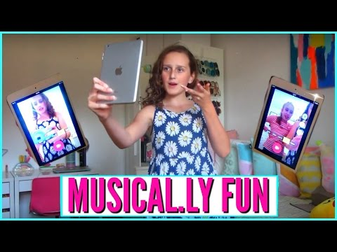 Musical.ly Fun With Millie and Chloe DIY   Chloe's Vlogs